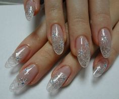 88 Awesome Christmas Nail Art Design Ideas 2017 - Do you want to quickly get catchy nails for Christmas? Curious about the hottest Christmas nail art design ideas that are presented for this year? Gel Nail Art Designs, Long Nail Designs, Nail Designs Pictures, Colorful Nail Designs, Simple Nail Designs, Nails Design, Snowflake Nail Design, Christmas Nail Art Designs, Christmas Nails