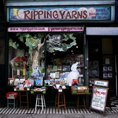 Ripping Yarns - bookshop in London. I'll definitely visit it when I go to London. :)