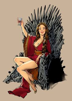 The Popular Ladies Of 'Game Of Thrones' As Sexy Pin-Up Models