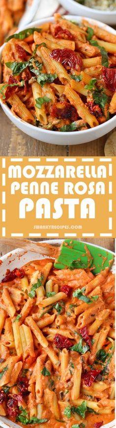 Mozzarella Penne Rosa Pasta