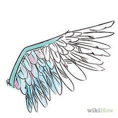 Draw Cartoon Wings - wikiHow