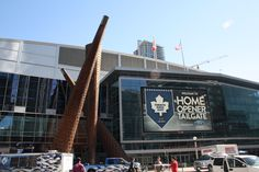 The Air Canada Centre, home of the Toronto Maple Leafs Concert Venues, Air Canada Centre, Toronto Maple Leafs, Hostel, Palaces, Bristol, Journey, Leaves, City
