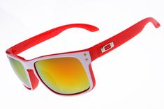 New Oakley Holbrook Sunglass Red Frame 3339