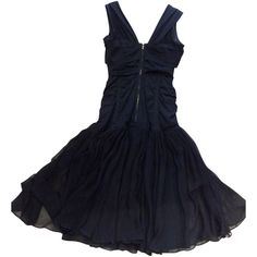 Dolce & Gabbana Pre-owned Evening dress in black (40.230 RUB) ❤ liked on Polyvore featuring dresses, black, black special occasion dresses, kohl dresses, holiday cocktail dresses, black holiday dresses ve cocktail dresses