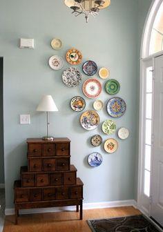 Wall Color: Living Room/Bedroom - Sherwin Williams Rainwashed