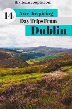 If you're planning a trip to Ireland then be sure you read this post outlining 14 awe-inspiring day trips from Dublin.  Dublin things to do- Dublin day trips- Dublin Irlenad things to do- Things to do in Dublin #dublinireland #dublinthingstodo #dublin #irelandtravel #europe #traveltips