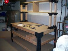Amazon.com: Customer Reviews: 2x4basics 90164 Workbench and Shelving Storage System