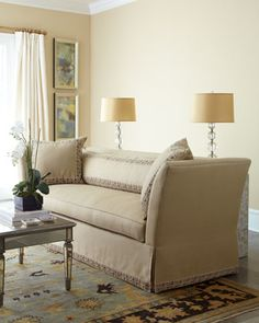"""Shop """"April"""" Sofa from Old Hickory Tannery at Horchow, where you'll find new lower shipping on hundreds of home furnishings and gifts. Old Hickory Tannery, Sofa Design, Interior Design, Classic Sofa, Home Decor Styles, Home Accents, Living Room Furniture, Home Furnishings, Sofas"""