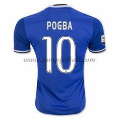 Juventus Fotballdrakter 2016-17 Pogba 10 Bortedrakt