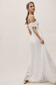 94d4e9c2993 Honor Off-The-Shoulder Dress Ivory Bridesmaid Dresses