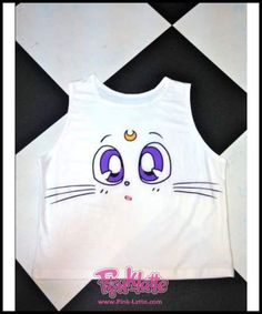 bf6f5469 New 2017 Cartoon Pattern Women Crop Top Fashion Colorful Camis Sailor Moon  Pokemon Pattern Sexy Sleeveless