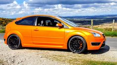 Ford focus st3 electric orange Ford Sport, Ford Rs, Orange Cars, Ford Focus, Ark, Saints, Electric, Angel, Orange