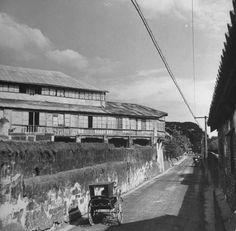 A view of Muralla Street in Manila. Location: Manila, Philippines Date taken: 1942 Photographer: Carl Mydans Fort Santiago, Philippine Architecture, Stock Pictures, Stock Photos, Sunken City, Intramuros, Filipiniana, Mindanao, Yangon