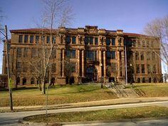 Davenport Iowa | File:Central HS, Davenport, Iowa.jpg - Wikipedia, the free ...