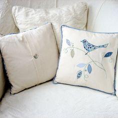 Bird Applique Cushion £35.00