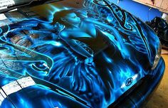 Amazing displays of talent. Motorcycle Paint Jobs, Motorcycle Tank, Car Paint Jobs, Custom Paint Jobs, Air Brush Painting, Car Painting, Custom Tanks, Custom Airbrushing, Truck Art
