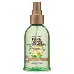 Garnier® Whole Blends™ Green Apple & Green Tea Extracts 5-IN-1 Lightweight Spray - 5oz : Target