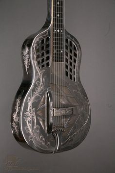 1929 national style 4 tri-cone squareneck. handcrafted.