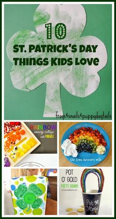 10 St. Patrick's Day Things Kids Love on FSPDT