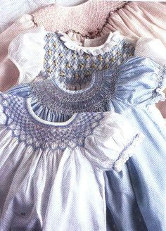 Smocking has so many pretty designs....inspiration to get my supplies out and start smocking again :-)