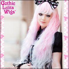 Gothic Lolita Wigs Rhapsody Ombre Pink