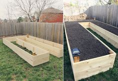 How to Build A U-Shaped Raised Garden Bed 1