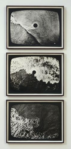 Hole in the Sea (Triptych) - Barry Flanagan #art