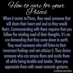 How To Care For Your Pisces:
