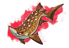 Draw Sharks More shark week, the bramble shark and the tiger shark! You can read their individual descriptions over at my dA account. Shark Week, Ocean Creatures, Fantasy Creatures, Ocean Monsters, Aliens, Cartoon Sea Animals, Shark Art, Prehistoric Creatures, Pisces