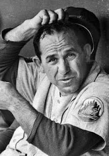 Yogi Berra - I never saw him play, but I love his humor and his Yogi-isms.
