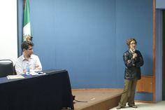 Mtra. Hilda Bustamante, Auditorio de la DGTIC, Seminario: Visiones sobre la Mediación Tecnológica en Educación, 23 de septiembre de 2013.