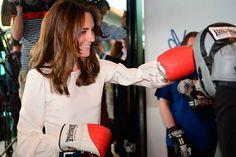 'Knock out!': El día en el que la Duquesa de Cambridge se puso los guantes