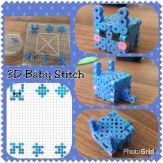 3D Baby Stitch perler beads by Katie C. - Perler® | Gallery