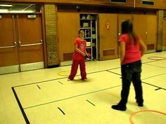 ▶ PE Throwing Game - Hoop Guard - YouTube more at http://carly3.blogspot.com