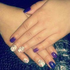 #nailart #naildesign #purplenails #oneiropagida