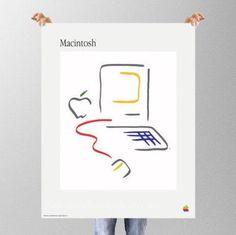 Apple Macintosh 1984 Picasso or Matisse by TheCompanyShop on Etsy
