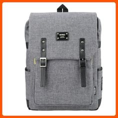 Backpack 15 Laptop Luggage Casual Bags Grey - Fun stuff and gift ideas (*Amazon Partner-Link)