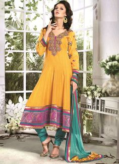 Buy online Salwar Kameez for women at Cbazaar for weddings, festivals, and parties. Explore our collection of Salwar suits with the latest designs. Anarkali Suits Online Shopping, Salwar Suits Online, Churidar, Salwar Kameez, Silk Anarkali Suits, Ethnic Wedding, Designer Anarkali, Latest Sarees, Indian Ethnic