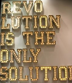 large metal letters with led lights by seletti maison usa mo13 via