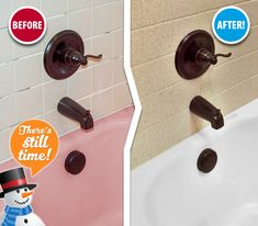 Sick of your pink bathtub? In just two days, we can transform your outdated tub & tile with beautiful, easy-to-clean finishes. Contact us today and we'll have your tub & tile ready for holiday guests!
