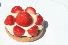 Jordbær Kage - Traditional Danish Strawberry Cake