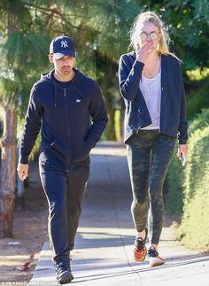 Just the two of us: Sophie Turner was spotted out with Joe Jonas in Los Angeles on Monday