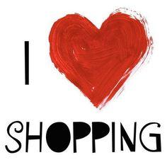 We love shopping!