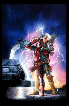 Deadpool/Cable: Back to the Future...
