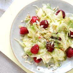 Fenchel-Salat Chili, Pasta Salad, Vegan, Cabbage, Salads, Vegetables, Ethnic Recipes, Food, Salad With Fruit
