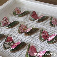 Butterflies from botanical books
