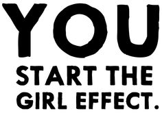 We build youth brands and mobile platforms to empower girls to change their lives. The Girl Effect, United Nations Foundation, Plan Canada, Days For Girls, Girl Empowerment, Letter G, Everybody Else, Family Outing, Fundraising Ideas