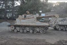 M74 ARV at the Military Vehicle Technology Foundation, Portola Valley, CA.   www.toadmanstankpictures.com www.facebook.com/toadmanstankpictures