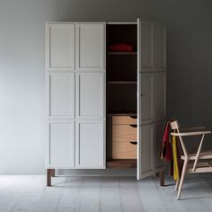 'Frey' armoire, from £3,495, Pinch (pinchdesign.com)