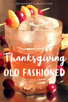 An old classic just got a holiday twist of cranberry! The cocktail is the perfect day sipper for Thanksgiving but also the tequila drink would make a great companion at the family Christmas!